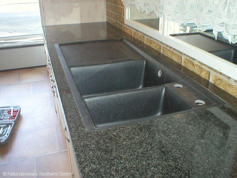 detailansicht k chenarbeitsplatte fl che bild 1. Black Bedroom Furniture Sets. Home Design Ideas