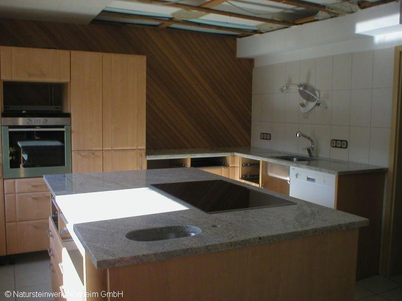 detailansicht k chenarbeitsplatte kochinsel bild 2. Black Bedroom Furniture Sets. Home Design Ideas