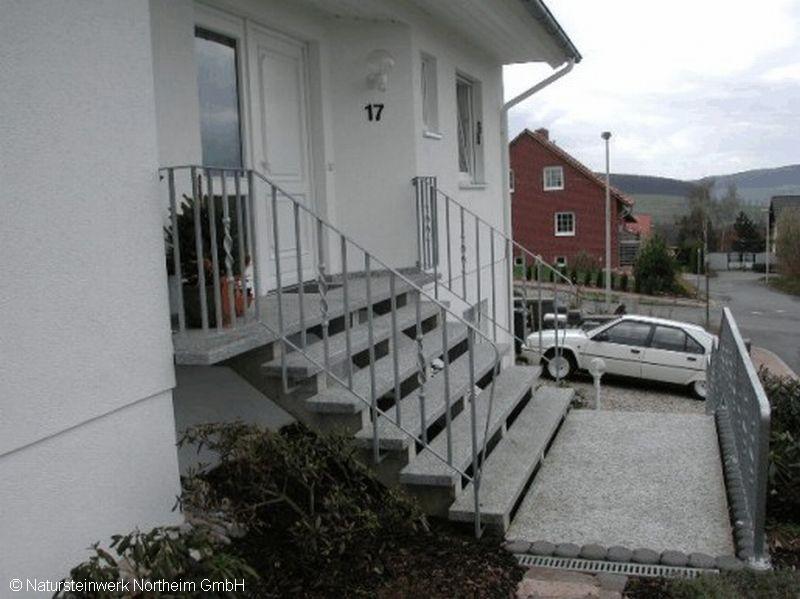 detailansicht treppe au en bild 9 ansicht 3 natursteinwerk northeim gmbh. Black Bedroom Furniture Sets. Home Design Ideas